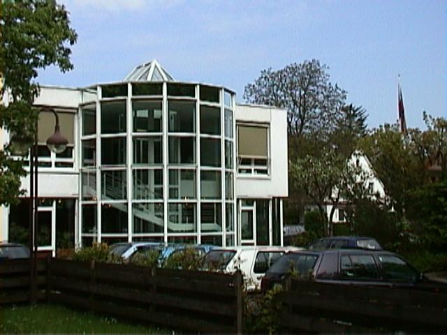 Современный вход в лабораторию Крамера в Гестахте