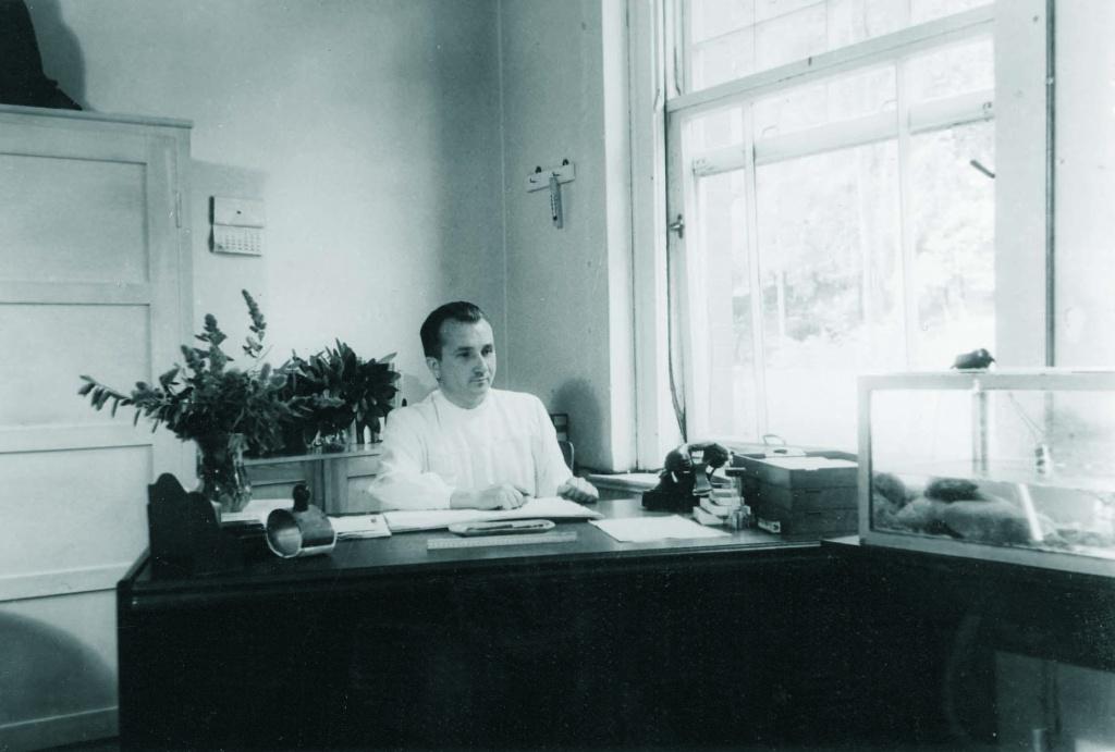 Доктор Зигфрид Крамер - основатель лабораторной службы LADR
