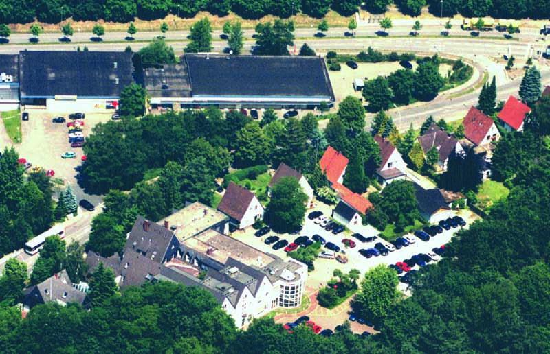 Вид лаборатории Крамера с воздуха в 80-е годы