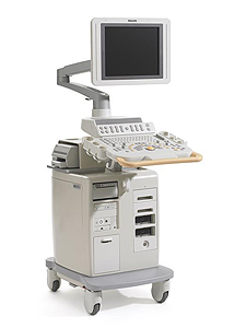 УЗИ-аппарат экспертного класса Philips HD11XE для проведения УЗИ щитовидной железы