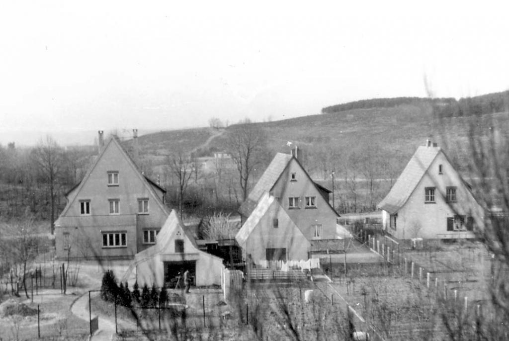 Внешний вид первых домов лаборатории Крамера
