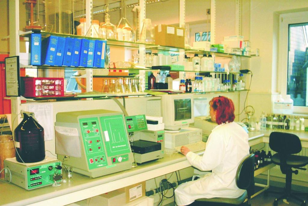 Работа лаборатории в 80-е годы XX века